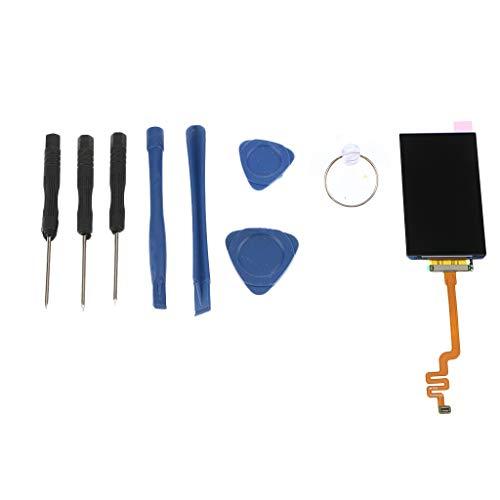 perfk LCD Display und Digitizer Touch Bildschirm für iPod 7, Reparatur Werkzeug Kit