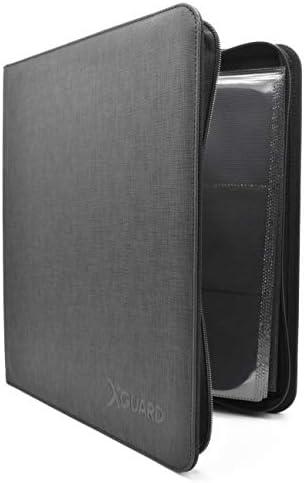 XGuard Premium 12 Pocket Trading Card Binder 480 Side Loading Pocket Album Folder Holds Standard product image
