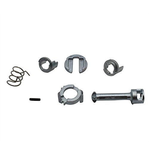TAKPART Door Lock Cylinder Repair Kit Replacements Front Driver Side for BMW E46 3 Series 1998-2005 51217019975 51217019973, 51217019974, 51217019976