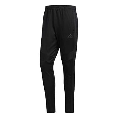 adidas Men's Tiro 19 Training Soccer Pants, Tiro '19 Pants, Black/Black, X-Large
