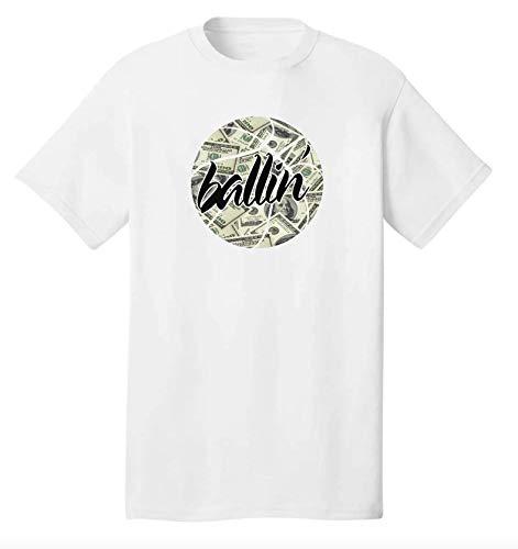 Ballin' Money Swag Uniek T-shirt voor heren