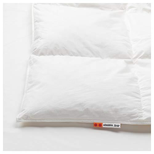 IKEA.. 002.996.65 Hönsbär Comforter, Extra Warm, White