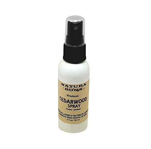 Cedar Wood Spray Oil. A Blend of Cedarwood and Lavender Essential Oils (2oz Spray)