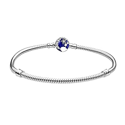 Amazon Promo Code for Bracelet Plate Silver Snake Chain Bangle Barrel Clasp 27092021084440