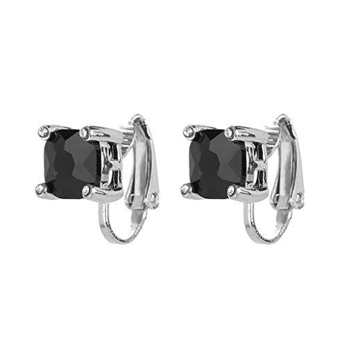 UINGKID Ohrstecker Mode Einfache Stilvolle Attraktive Europäische und amerikanische Modetrends Ohrringe Ohrclips Einfache Ohrringe Frauen