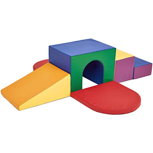 New AmazonBasics Kids Soft Play Tunnel Climber