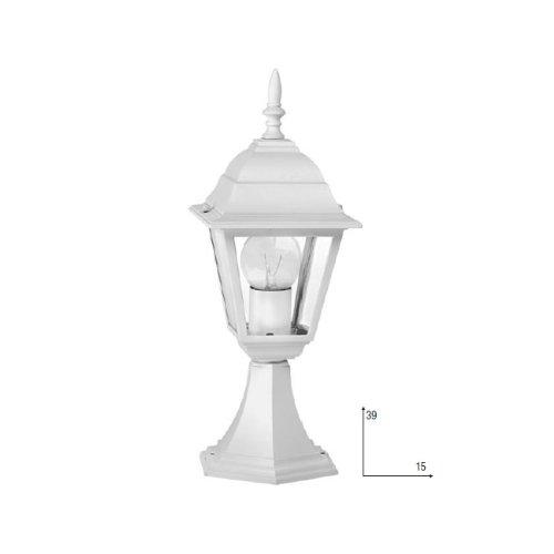 F.A.N. EUROPE Lighting LANT-ROMA/L1 BCO iluminación al aire libre Alumbrado de sobremuro/pie...