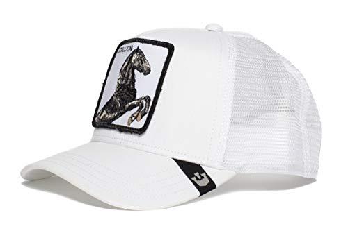 Goorin Bros Trucker Cap Stallion/Pferd White - One-Size