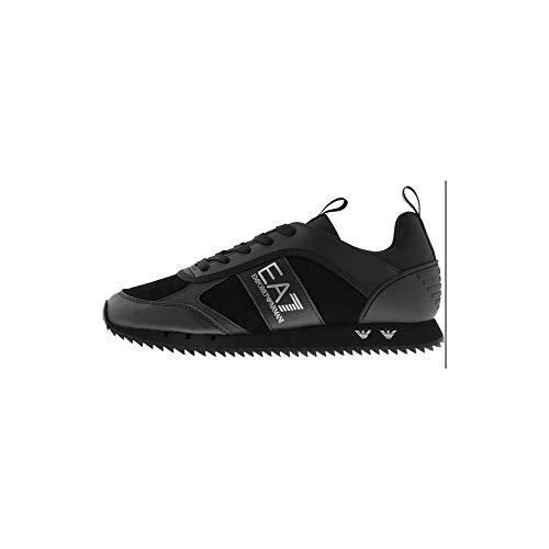 Emporio Armani EA7 Triple Sneaker Schwarz, Schwarz (schwarz), 39.5 EU