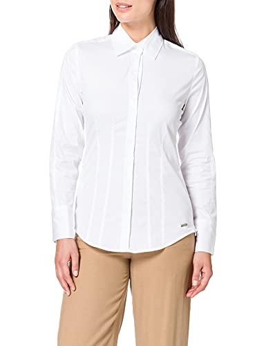 Daniel Hechter 60020 700750 Bluse Camicia, Bianco (White 10), 42 Inches (Taglia Produttore: 42) Donna