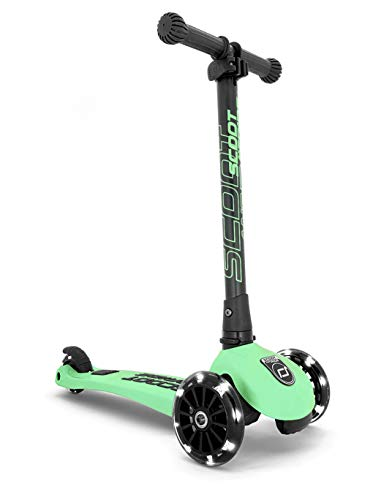 Scoot & Ride Highwaykick 3 LED Verde Kiwi