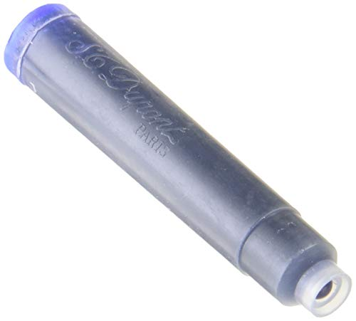Cartuchos de tinta de pluma estilográfica Color azul Caja de 6