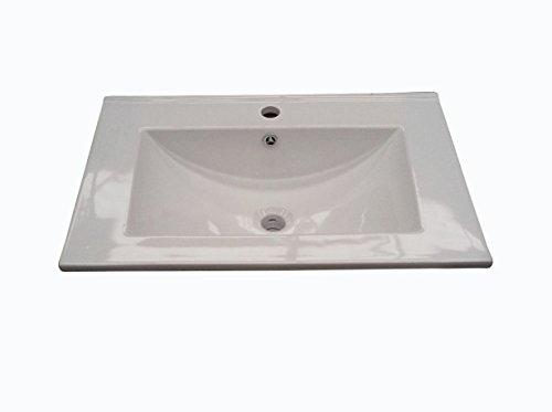 Arkitmobel 305911O - Lavabo in ceramica (60 cm)
