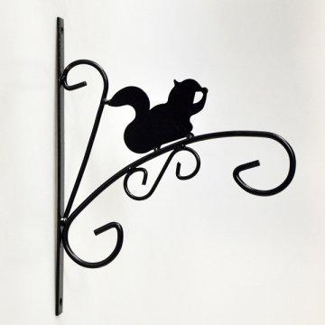 Animal sauvage Panier à suspendre support mural de Garage support pour plantes de jardin Écureuil