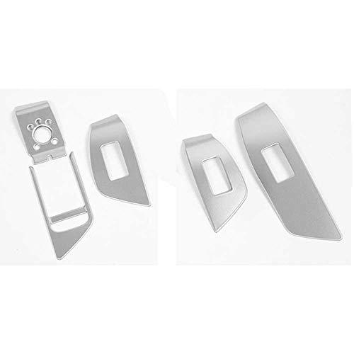 KenKER Marco de Botones de elevación de Vidrio para ventanilla de Coche, Apto para Audi A4 B9