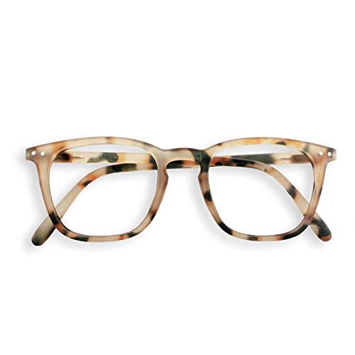 IZIPIZI LetmeSee #E Light Tortoise Reading Glasses +1 Light Tortoise