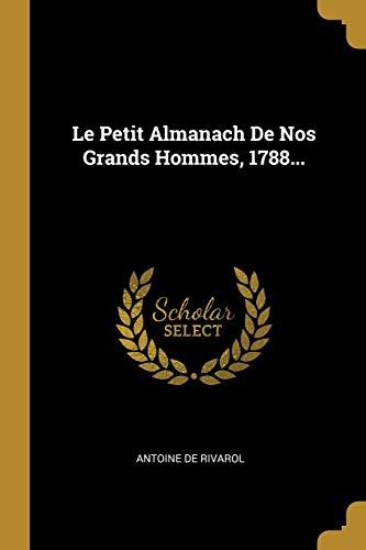 FRE-PETIT ALMANACH DE NOS GRAN