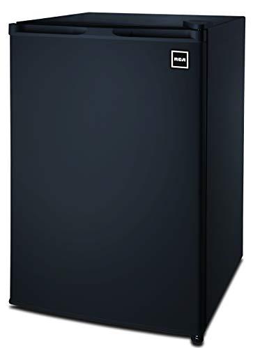 Price comparison product image RCA RFR464BLACK 4.5 Cu Ft Single Door Mini Fridge RFR464,  Black