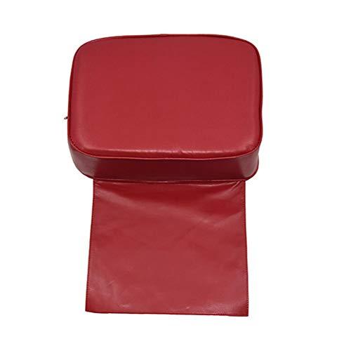 ZoYOL - Cuscino per sedia da barbiere, in poliuretano, per bambini, per bambini, per salone di bellezza, per salone di bellezza, colore rosso