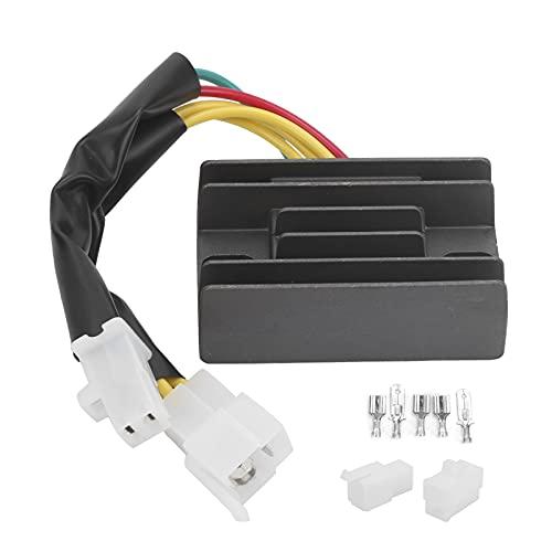 Rectificador regulador de voltaje, regulador de voltaje rectificador 32800-24b10-45c00 apto para Suzuki EN 125 / GN 250 / GS 125 / GZ 250