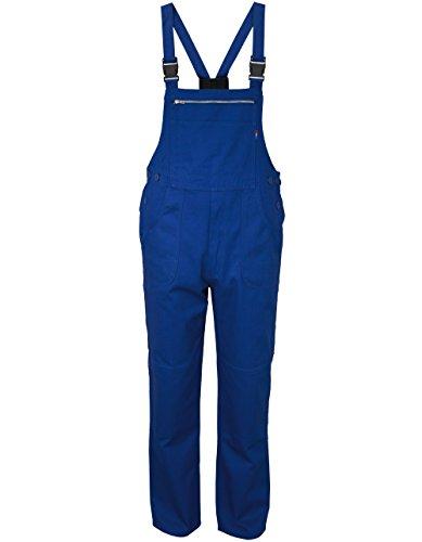 Carson Classic Workwear Arbeitslatzhose aus reiner Baumwolle, 1 Stück, 60, royalblau, KTH26.A