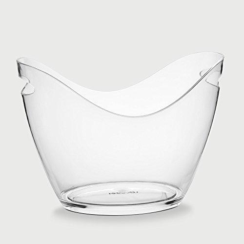 Balde de Gelo Confort Transparente 8L - Lemann