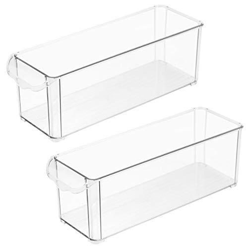 YARNOW Caja De Almacenamiento para Refrigerador Caja De Almacenamiento Caja Sellada De Plástico Capa De Partición De Frutas Estante De...