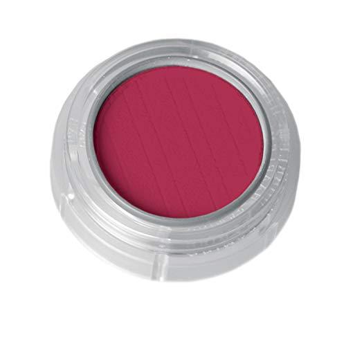 Lidschatten/Rouge, Döschen 2g, Farbe 543 Dunkelrot, Profi-Make-Up, sehr intensive Farbkraft