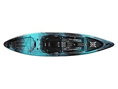 Perception Pescador Pro 12 | Sit on Top Fishing Kayak | Multi-Water Angler Kayak | 12'