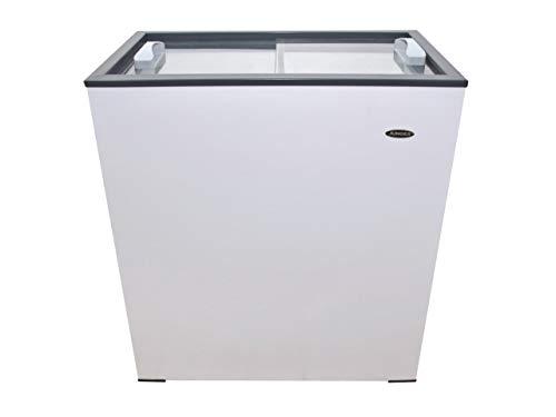 Freezer Horizontal 150 Litros Tampa de Vidro 220 Volts