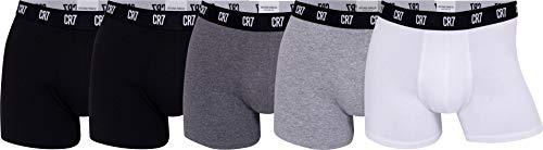 CR7 Basic Underwear Brief 5er Pack Schwarz