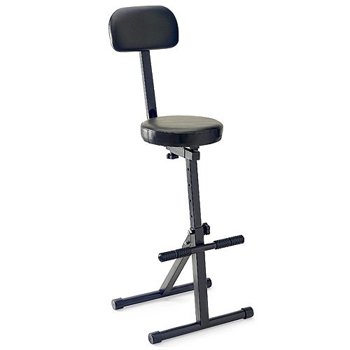 Stagg 25015361 MT-300 BK Backrest Pro Music High Throne