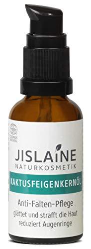 Jislaine Kaktusfeigenkernöl** 30 ml ist: 100% pur, ohne Palmöl | Anti-Falten-Pflege - Glasflasche