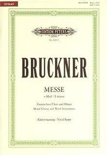 MESSE E-MOLL (FASSung 2 1882) - gearrangeerd voor piano [Noten/Sheetmusic] Component: BRUCKNER ANTON