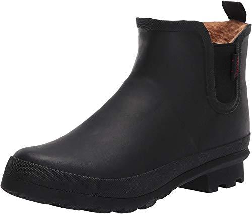 Chooka Women's Waterproof Plush Chelsea Boot,Black, 10 medium