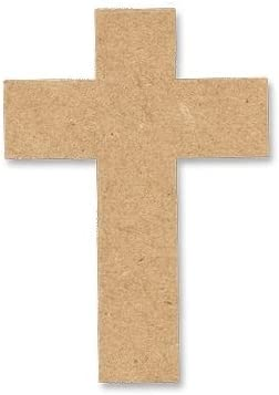 Cross Cutout Unfinished Max 67% OFF Wood Basic Shape Home Cut Holi Decor Out Don't miss the campaign