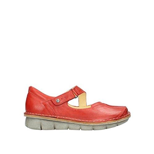 Wolky 8389 Cordoba, Damen Pumps, Red, 37 EU