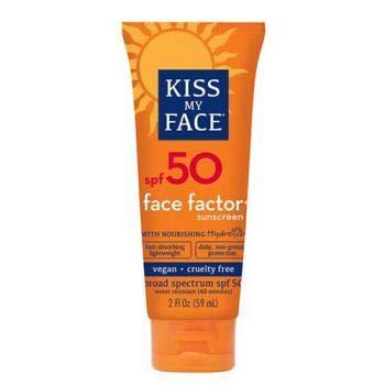 Kiss My Face Factor, Face + Neck Sunscreen SPF 50