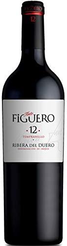 Vinos Figuero (Figuero 12,Vino tinto,vino Ribera del Duero, 750ml) 🔥