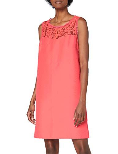Naf Naf EFLUO R1 Vestido, Rosa Rosa Neon, 42 para Mujer