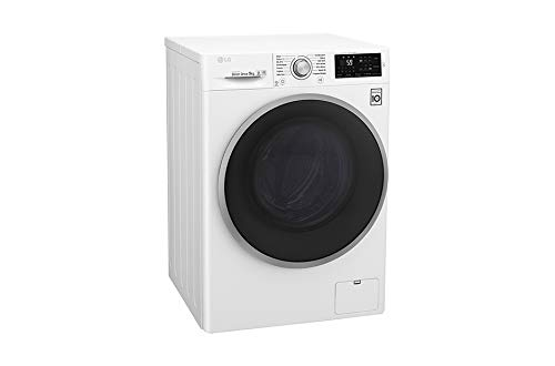 LG F94J61WH machine à laver Autonome Charge avant Blanc 9 kg 1400 tr/min A+++ - Machines à laver (Autonome, Charge avant, Blanc, Tactil, Gauche, LED)