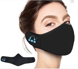 Face Mask with Bluetooth Speakers With Music Playing Function