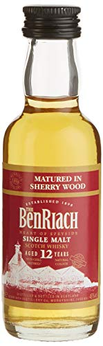 Benriach 12 Years Old Sherry Matured Whisky (3 x 0.05 l)