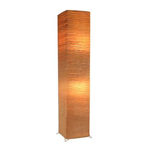 Lámpara de pie Hogar, Decoración del Hogar Moderno Chino Iluminación Vertical For La Sala De Estar Y Dormitorio, 3 Colores / 27 * 123cm (Color : C)