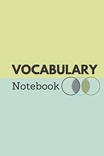 Vocabulary Notebook: New Language Learning Notebook 120 pages