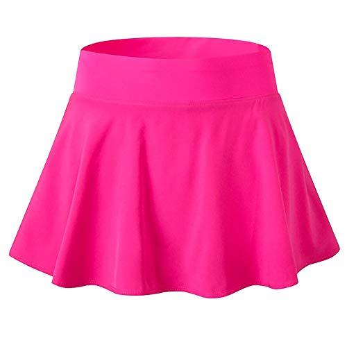 BOZONLI Falda de Tenis Pantalón Corto Deportivo Skorts de Golf para Mujer S-XL
