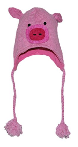 Gorro Animal - Cerdito Adulto
