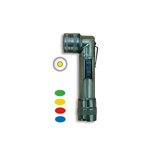 Albainox 33127 Linternas Tácticas, Unisex Adulto, Multicolor, Talla Única