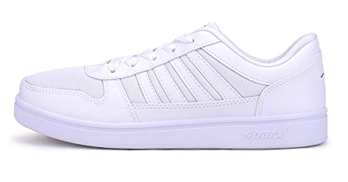 Sparx Men's White Sneakers-8 UK (SD0439G_WHWH0008)