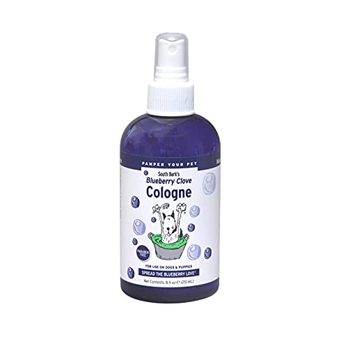 South Show Blueberry Bark's Clove Cologne for Pets